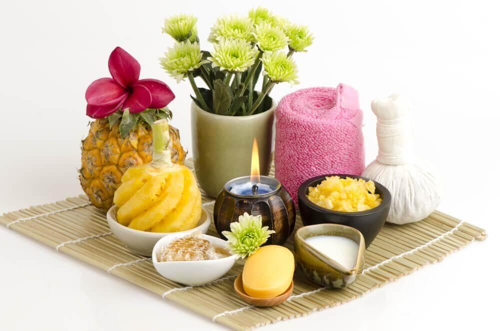 Tratamento natural com abacaxi