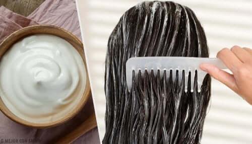 5 máscaras de maionese para embelezar o seu cabelo