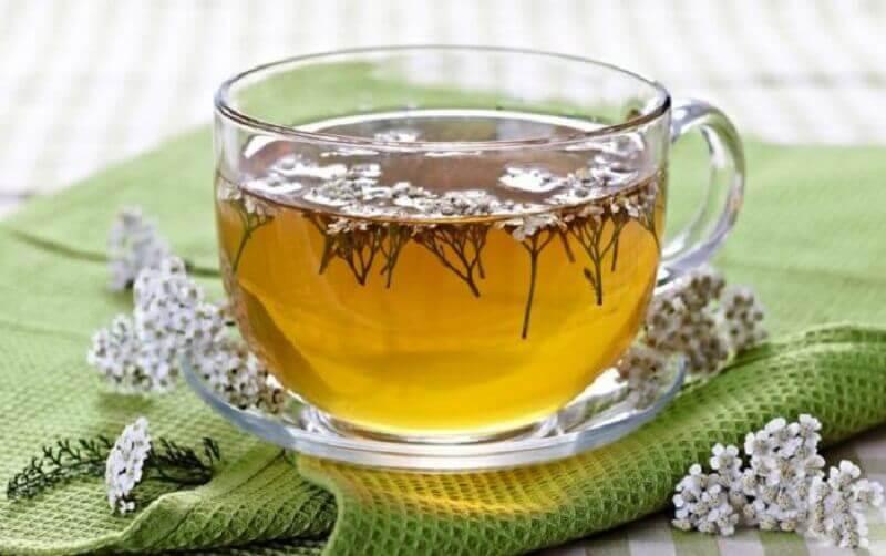 Chá de milefólio