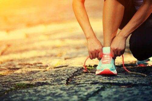 O esporte ajuda a superar uma situação difícil