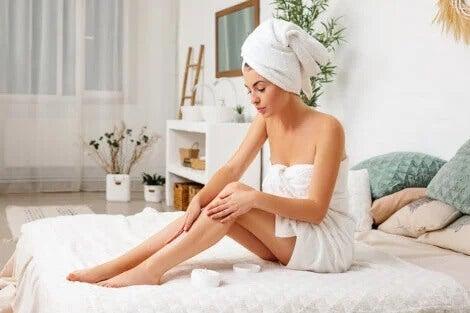 Massagem: aliviar a sensação de peso nas pernas