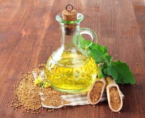 Óleo de mostarda ajuda a aliviar os zumbidos