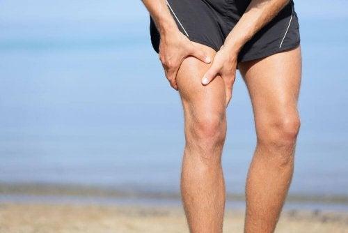 Dor na articulação do joelho