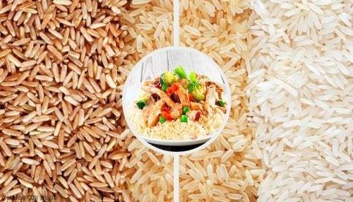 Qual é o tipo de arroz que menos engorda?