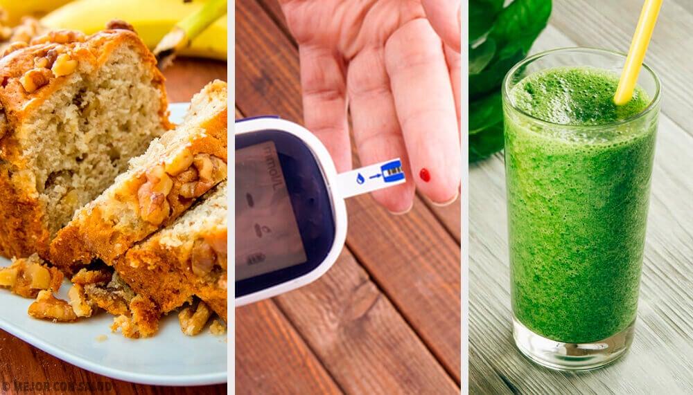 4 receitas adequadas para diabéticos