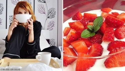 4 receitas para um café da manhã rápido e saudável