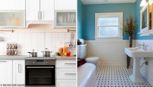 Remédios caseiros para um bom cheiro na cozinha e banheiro
