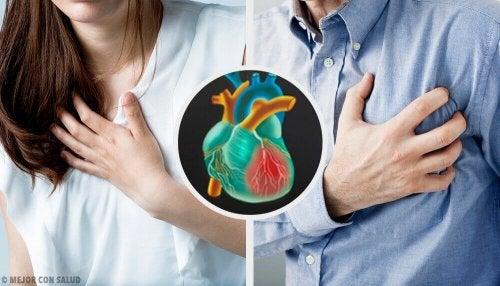 O infarto feminino e masculino são diferentes?