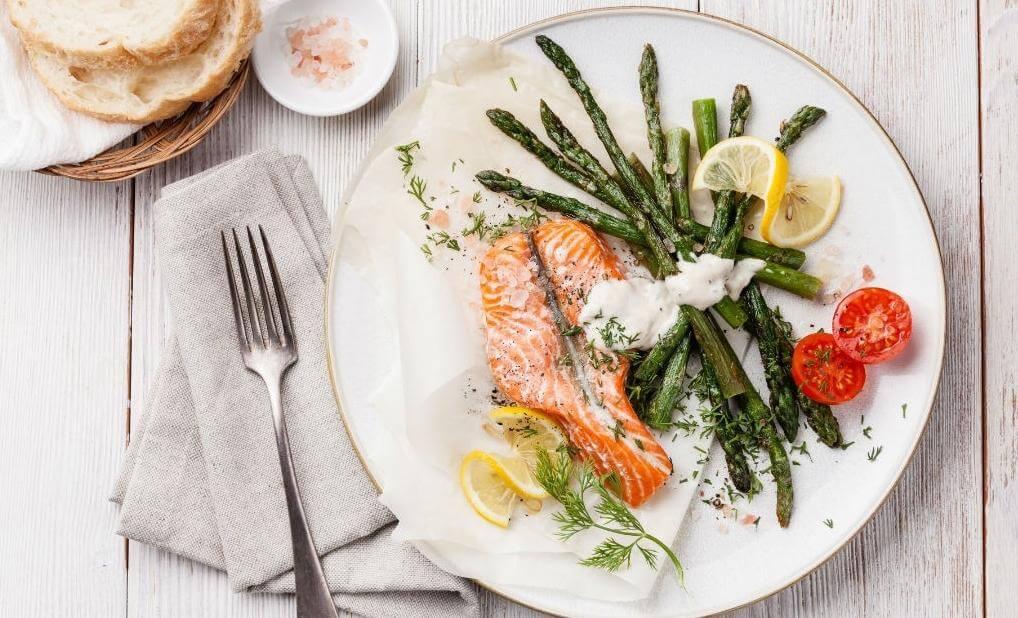 Jantar leve e saudável