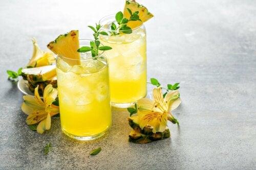 Problemas ao ingerir infusão de casca de abacaxi