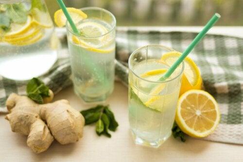 Bebida para ativar o metabolismo