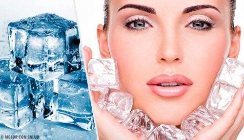 Usos alternativos dos cubos de gelo