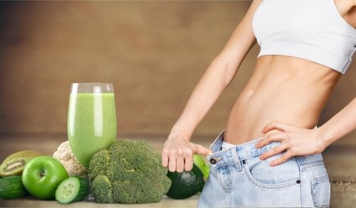 Suco verde para queimar gordura