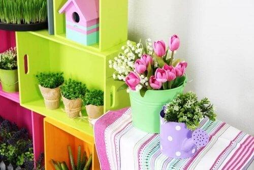4 formas de decorar o seu pequeno jardim