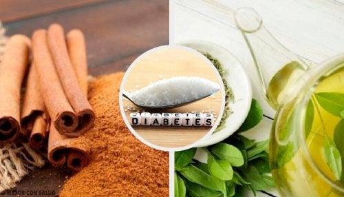 7 infusões para tratar a diabetes alta de maneira natural