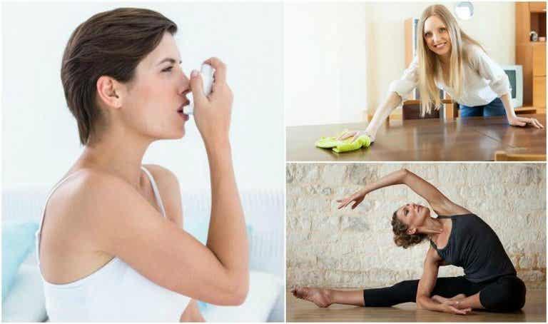 8 conselhos para o tratamento e controle da asma