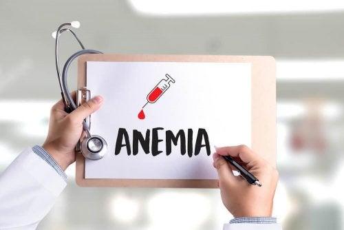 A anemia pode ser uma das doenças durante a gravidez