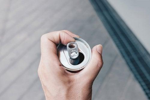 Tampinha da lata de alumínio