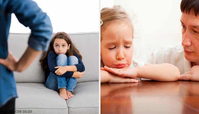 O que fazer quando uma criança se comporta mal?