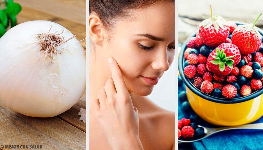 Os 8 alimentos que fornecem colágeno para a pele