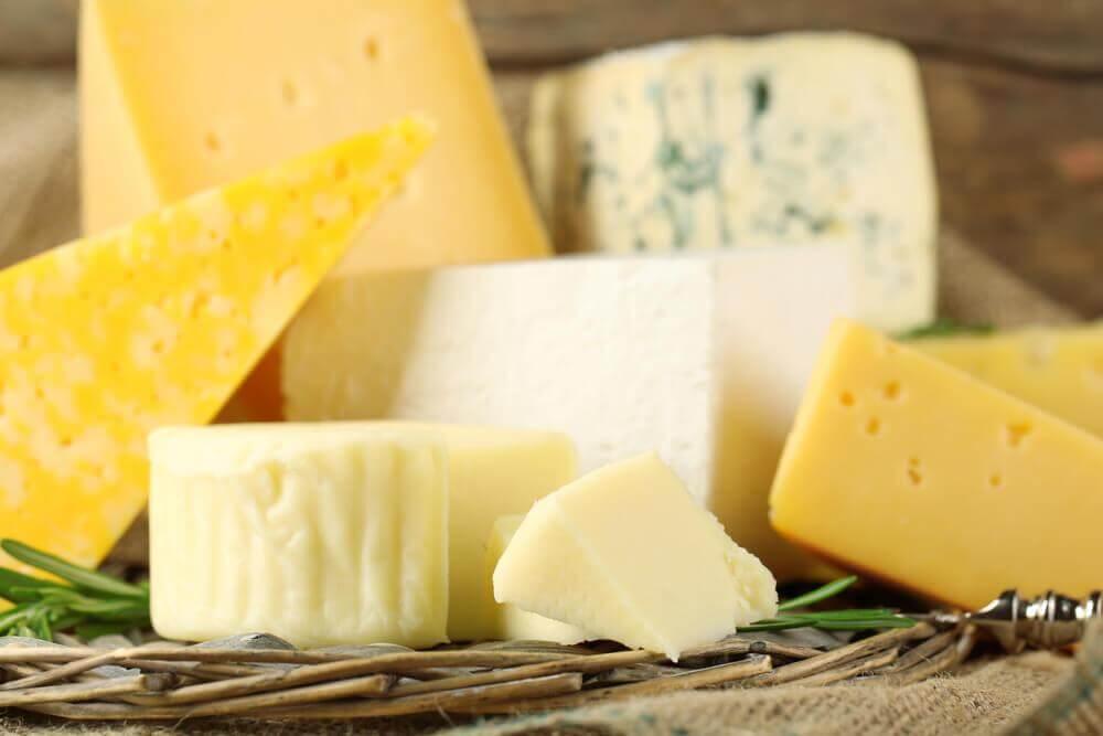 Os tipos de queijo e o seu valor nutricional