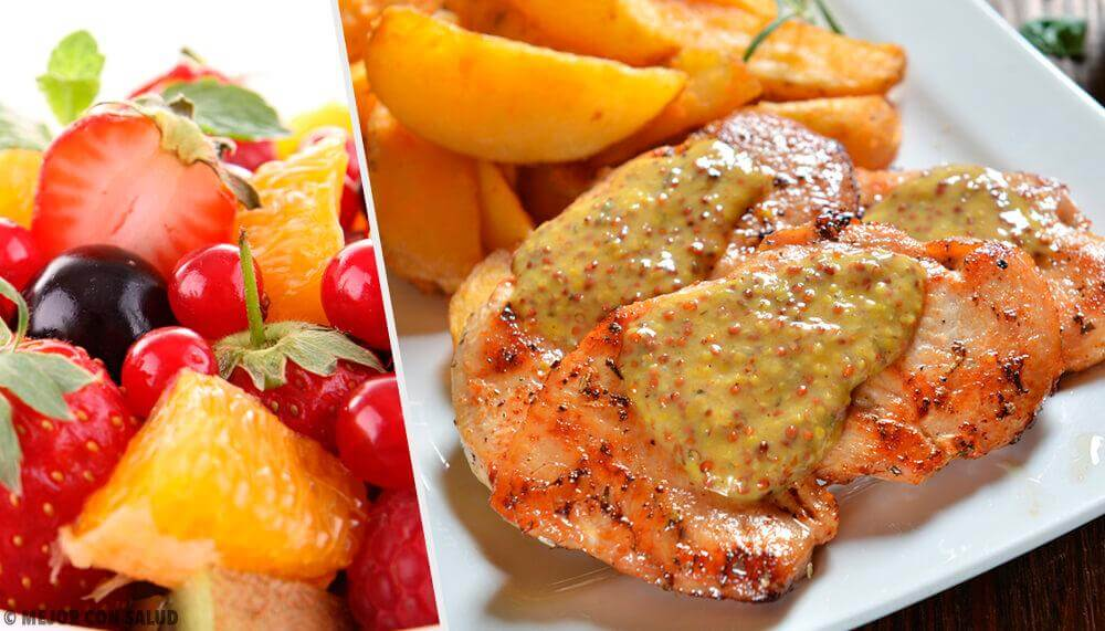 Receita de peito de frango com molho de frutas