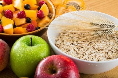 Alimentos com fibra que pode incluir no café da manhã