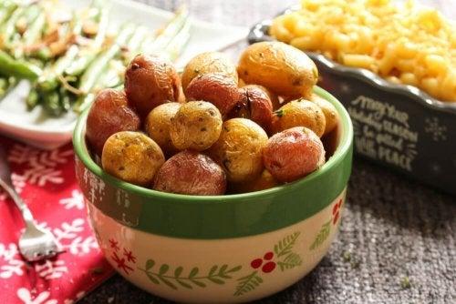 Bolinhas de batata