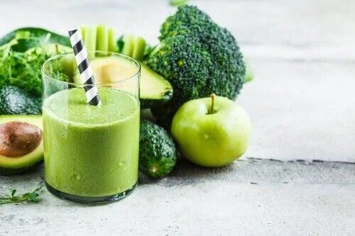 Vitamina de brócolis para emagrecer