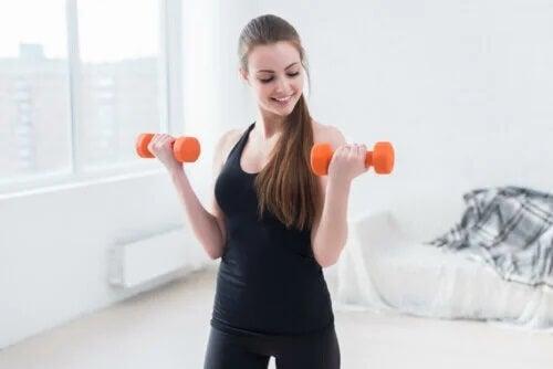 Exercícios para eliminar a gordura das axilas