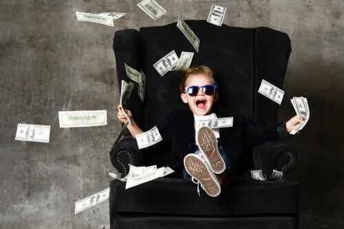 """A """"síndrome da criança rica"""": um problema causado pelos pais"""