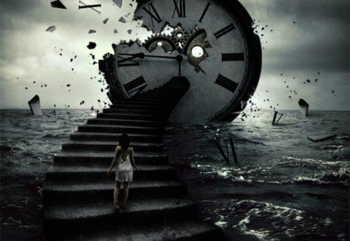 Ladrão do tempo desmanchando