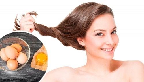Como usar o ovo para os cabelos?