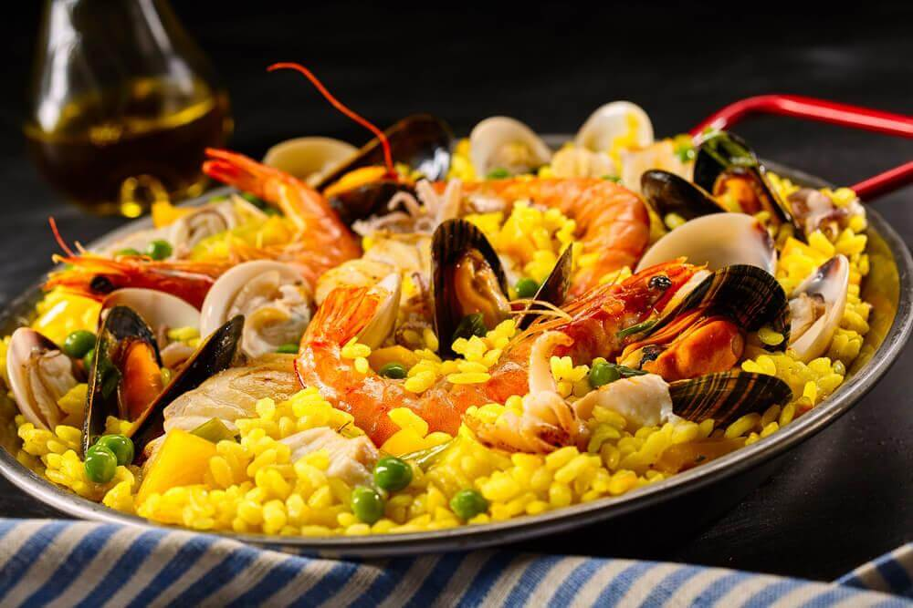 "Paella ""mar e terra"""