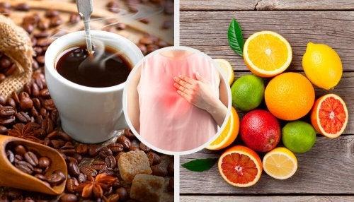 7 alimentos que você deve evitar se sofre de refluxo ácido