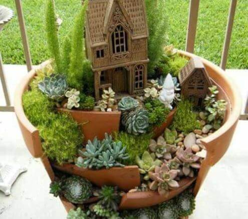 Ideias para decorar seus vasos de plantas