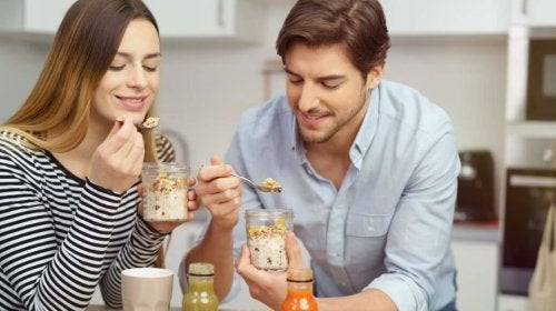 Receita para preparar vitaminas com leite de aveia