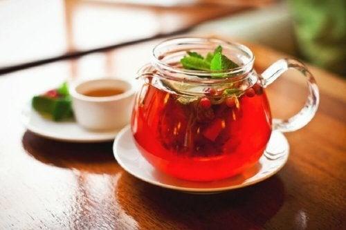 Chá de salsaparrilha