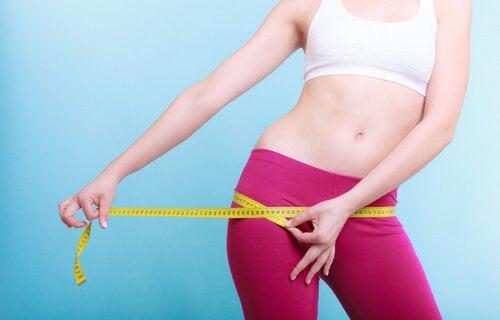 Perder medidas no corpo