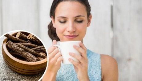 Chá de alcaçuz