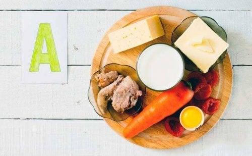Alimentos com vitaminas importantes