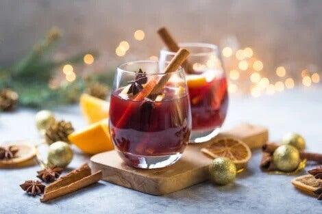 A canela e as bebidas alcoólicas