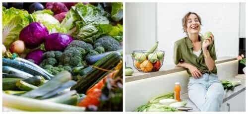 6 grandes vantagens de consumir vegetais e frutas todos os dias