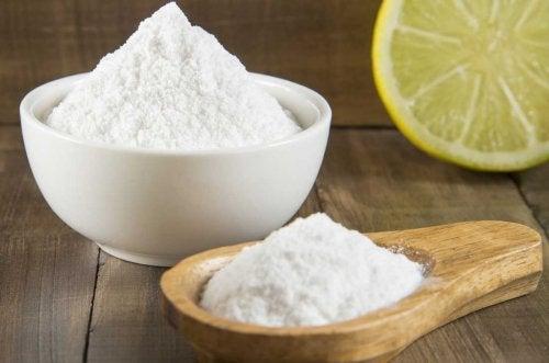 bicarbonato de sódio para tratar a caspa