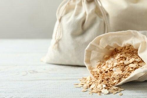 Farinha de aveia, um grande aliado para a pele seca e sensível