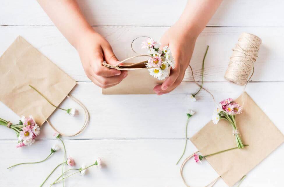 Faça sacolas de presente para ocasiões especiais