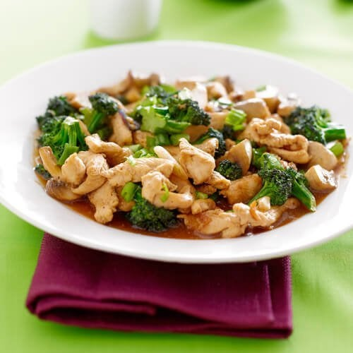Receita de peito de frango com brócolis