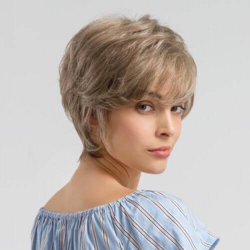 Volume para o cabelo curto
