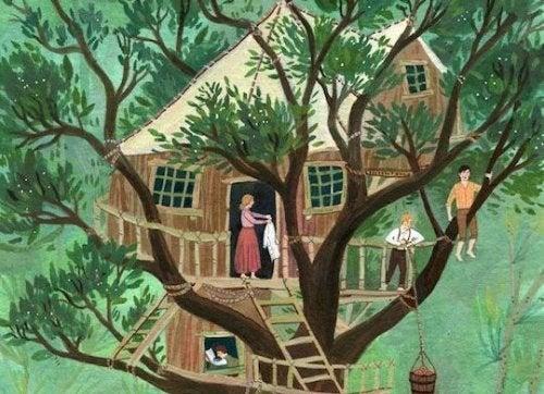 Como construir uma casa na árvore para as crianças