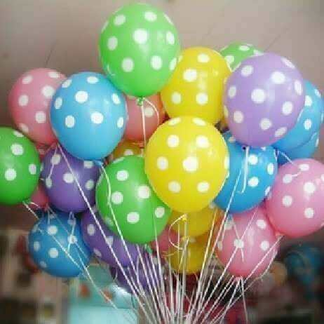 Balões coloridos para decorar